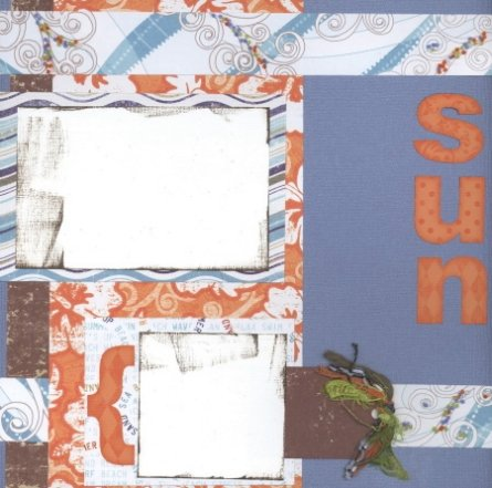 Scrapbooking With Love June 2007 Monthly Kit