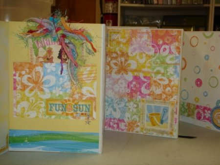 Scrapbooking With Love Flair Beach Accordion Book Class