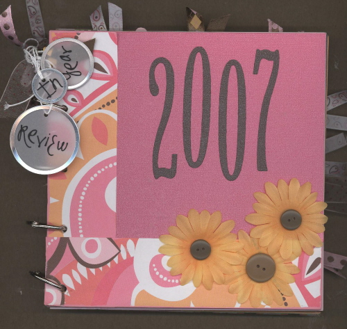 Scrapbooking Page Ideas 2007 Year in Review Class