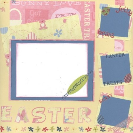 Scrapbooking Page Ideas Easter 07