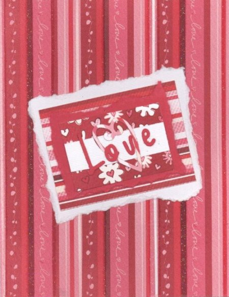 Scrapbooking Page Ideas Love Card