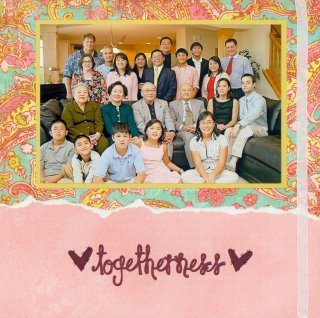 Scrapbooking Page Idea Family Togetherness