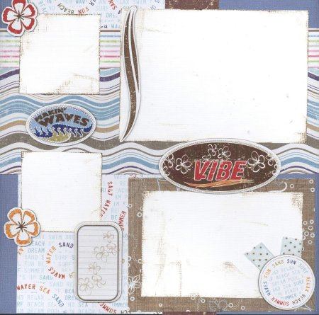 Scrapbooking Page Ideas Making Waves