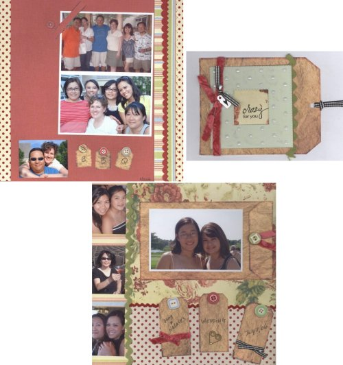 Scrapbooking Page Ideas Making Memories Decorative Kit Class