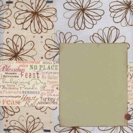 Scrapbooking Page Ideas Thanksgiving Words