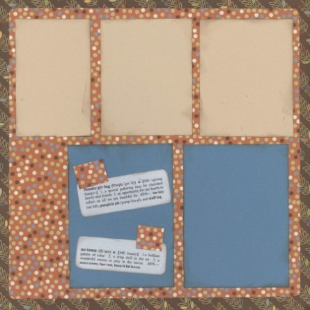 Scrapbooking Page Ideas Treasured