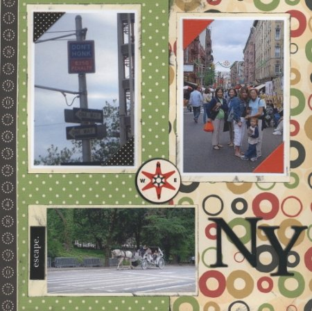 Scrapbooking Page Ideas NY