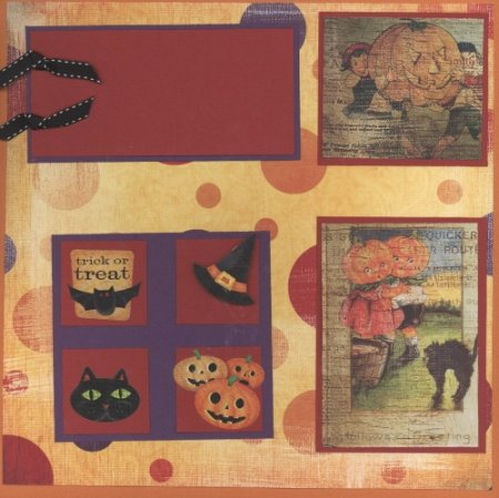 Scrapbooking With Love Page Ideas Happy Halloween 2006
