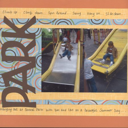 Scrapbooking Page Ideas Park Play