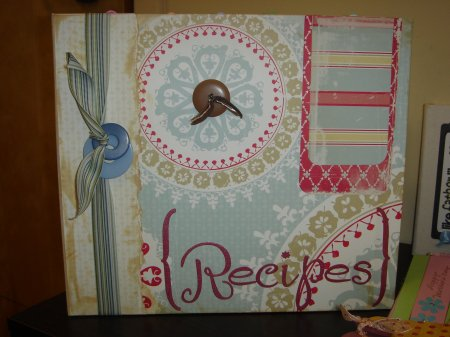 Scrapbooking With Love Cosmo Recipe 9x9 Book