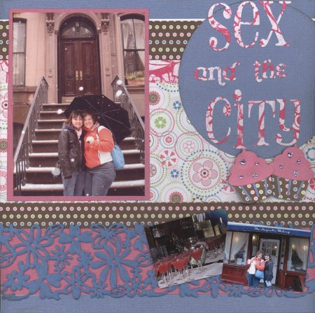 Scrapbooking Page Ideas Sex & The City
