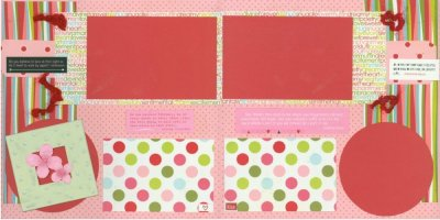 Scrapbooking With Love Page Idea Valentine