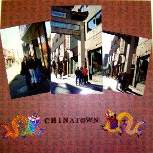 Scrapbook Idea - Chinatown