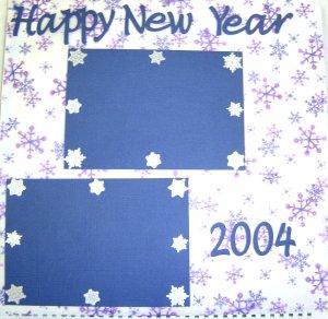 Scrapbook Idea - January