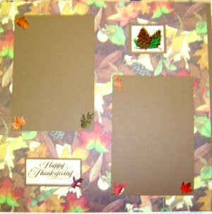 Scrapbook Idea - November