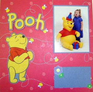 Scrapbook Idea - Winnie the Pooh