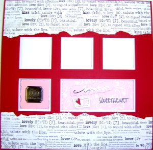 Scrapbook Idea - Sweetheart Page