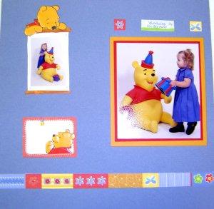 Winnie the Pooh - Scrapbooking Idea