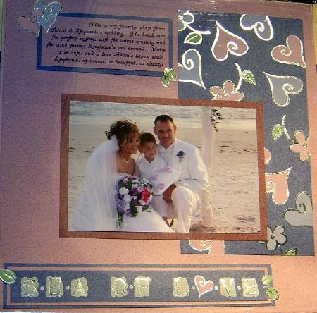 wedding scrapbook idea