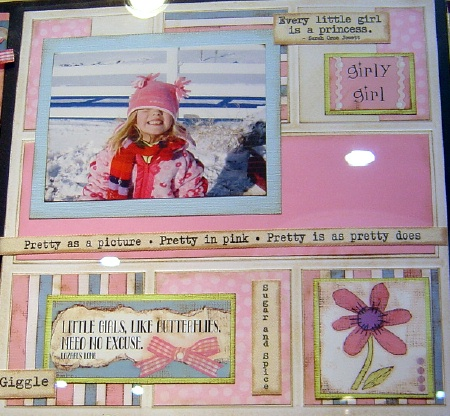 scrapbook for girl