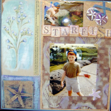 free idea page scrapbooking