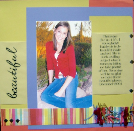 idea scrapbooking teen