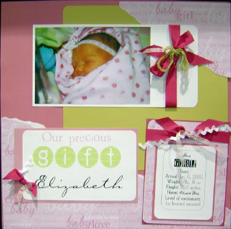 Baby Photos Ideas on Baby Girl   Scrapbooking Ideas  Scrapbook Layouts And Scrapbooking