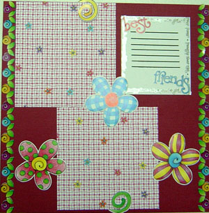 Girl Power Scrapbook Page 2