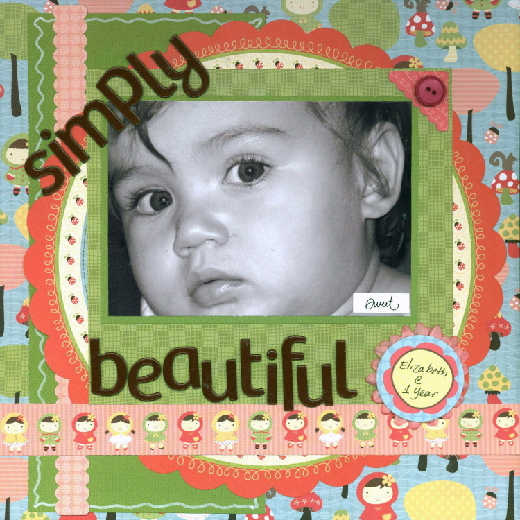 Scrapbooking Page Ideas Simply Beautiful