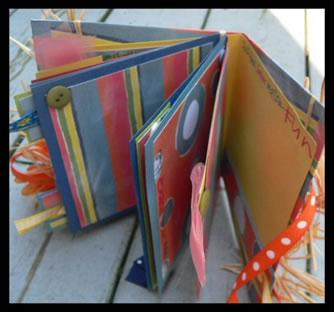 Scrapbook Idea Summer Bag Album