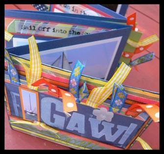 Scrapbook Gawi Mini Book Idea