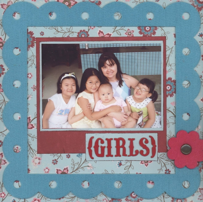 Scrapbooking Page Ideas Girls