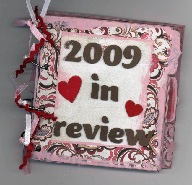 Scrapbooking Page Ideas 2009 in Review